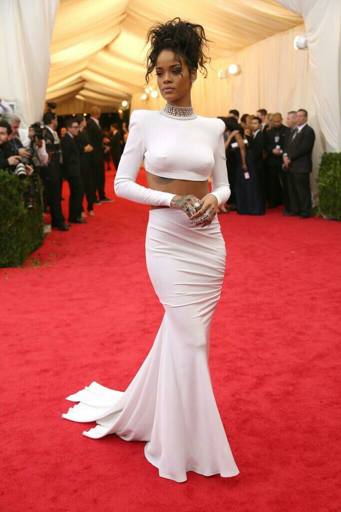 Red Carpet Dresses Rihanna