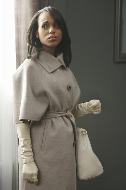 Photo courtesy: ABC 3/4  sleeve coat/ Prada purse/ Gaspar gloves