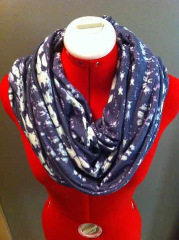 """stamped infinity scarf from Haus of Gem. Yes...it's really called """"Stamped!"""""""