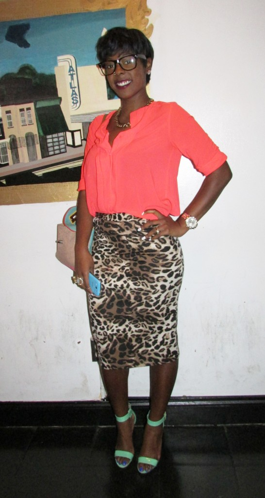 I looove this outfit on Tabriah!! So Style Stamped approved! The print and bright colors are everything.
