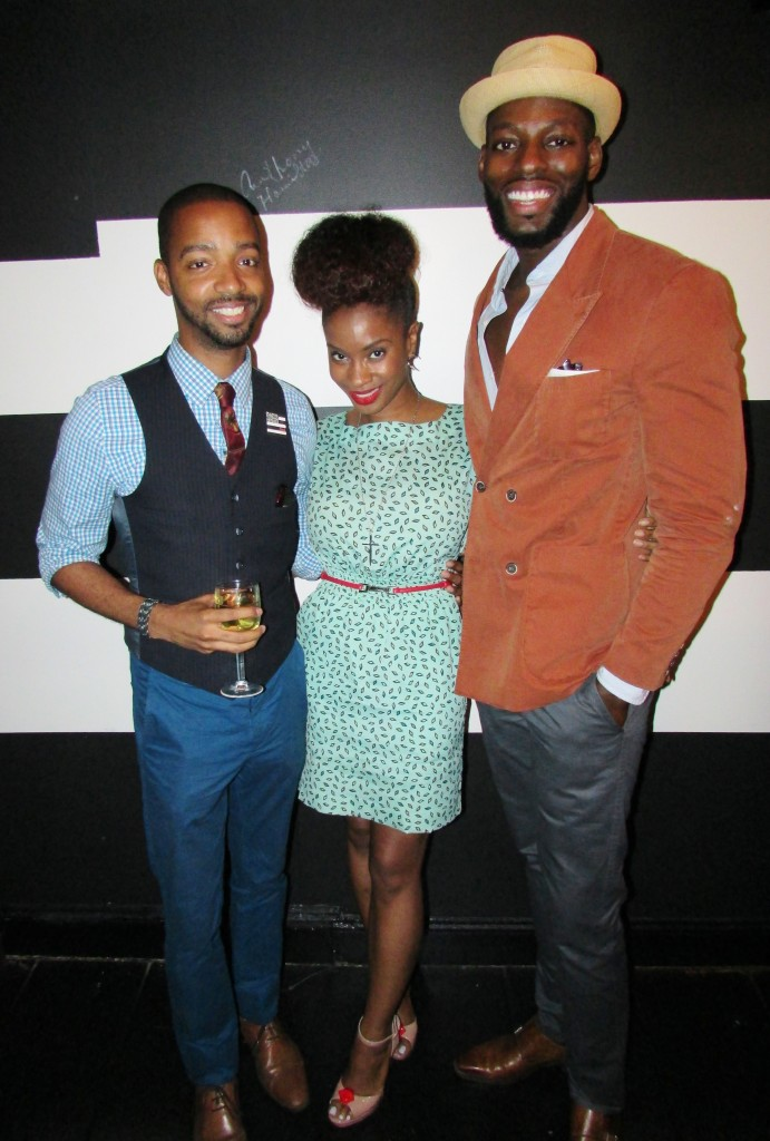 The Dapper Don's and myself :))