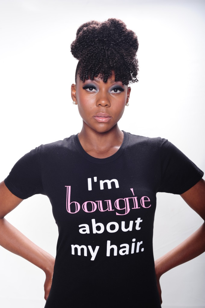 I'm bougie about my hair!