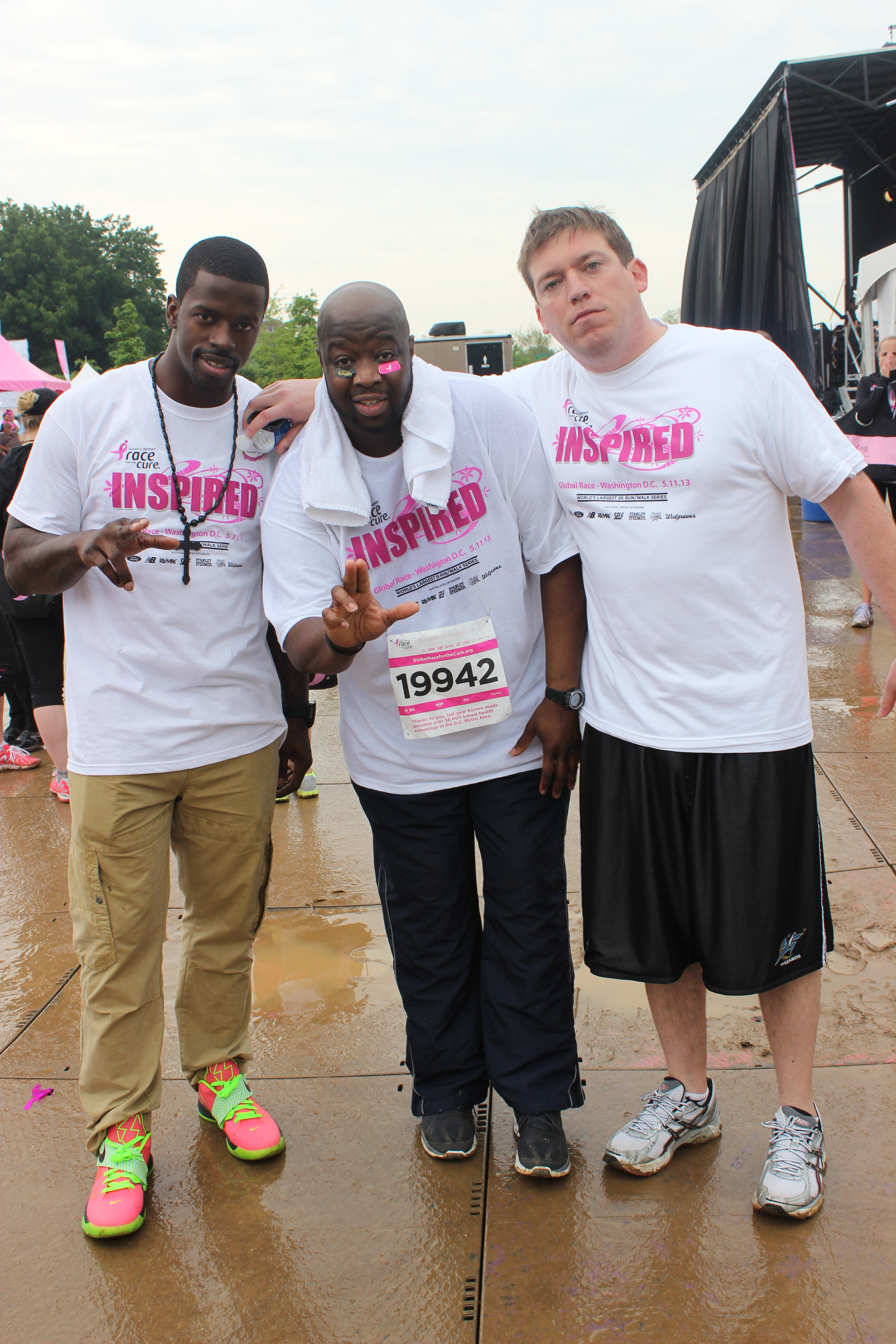 Kicks fresh, even for the Susan G. Komen Race for a Cure DC Day!