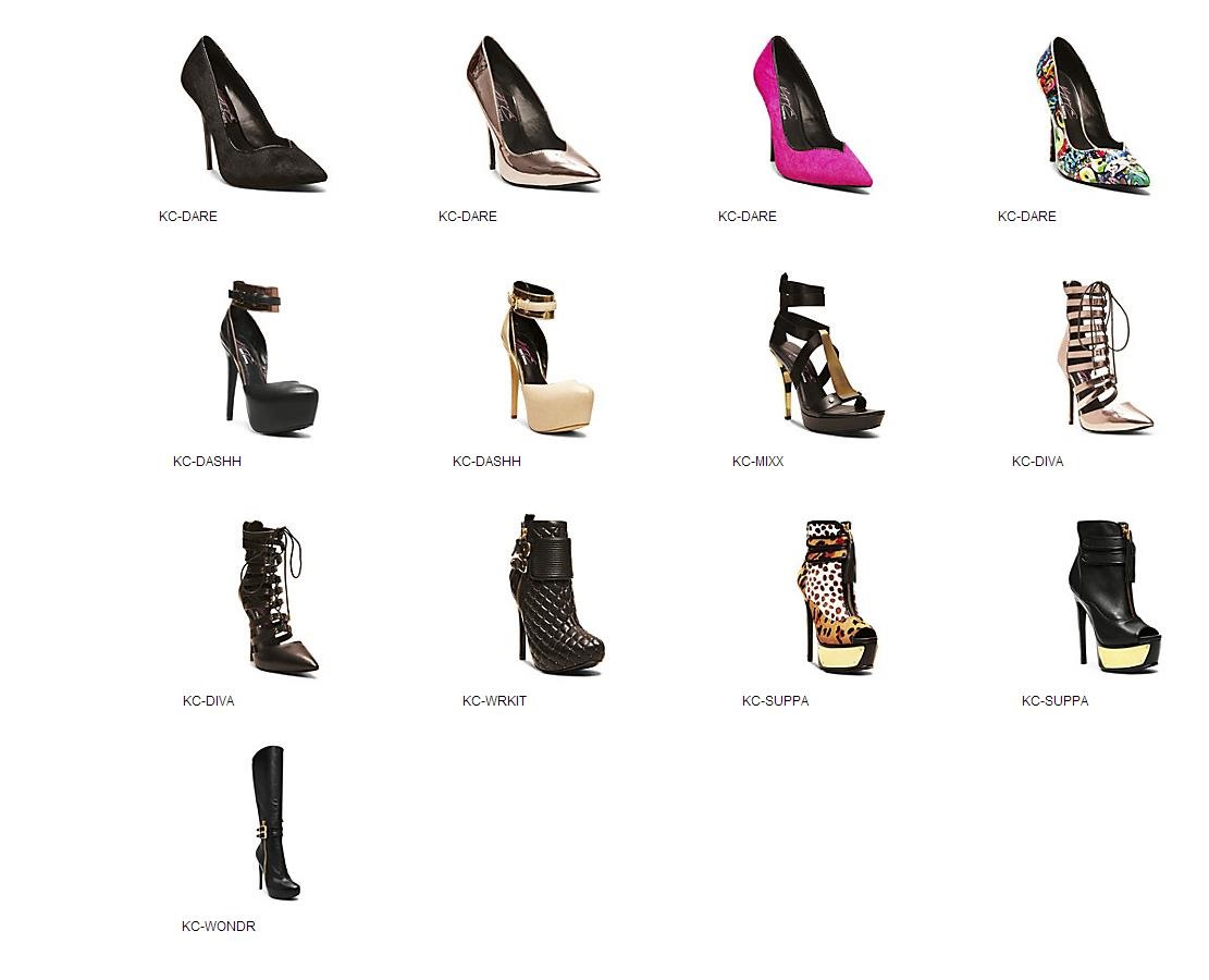 Keyshia Cole and Steve Madden Collection