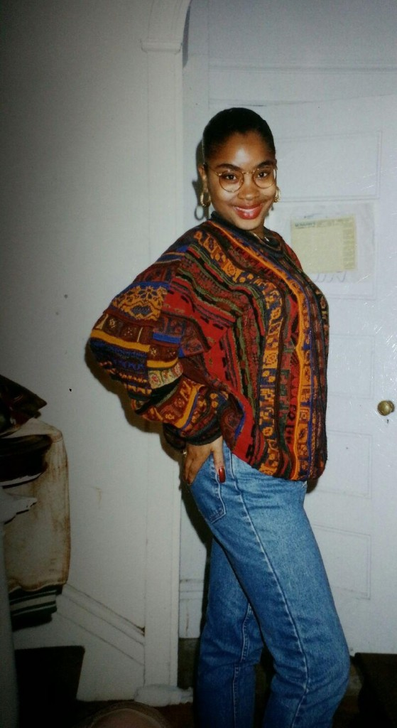"""High School, after the Lupus diagnosis. """"Stay fly, no lie"""" """"Coogi down to the socks!"""""""
