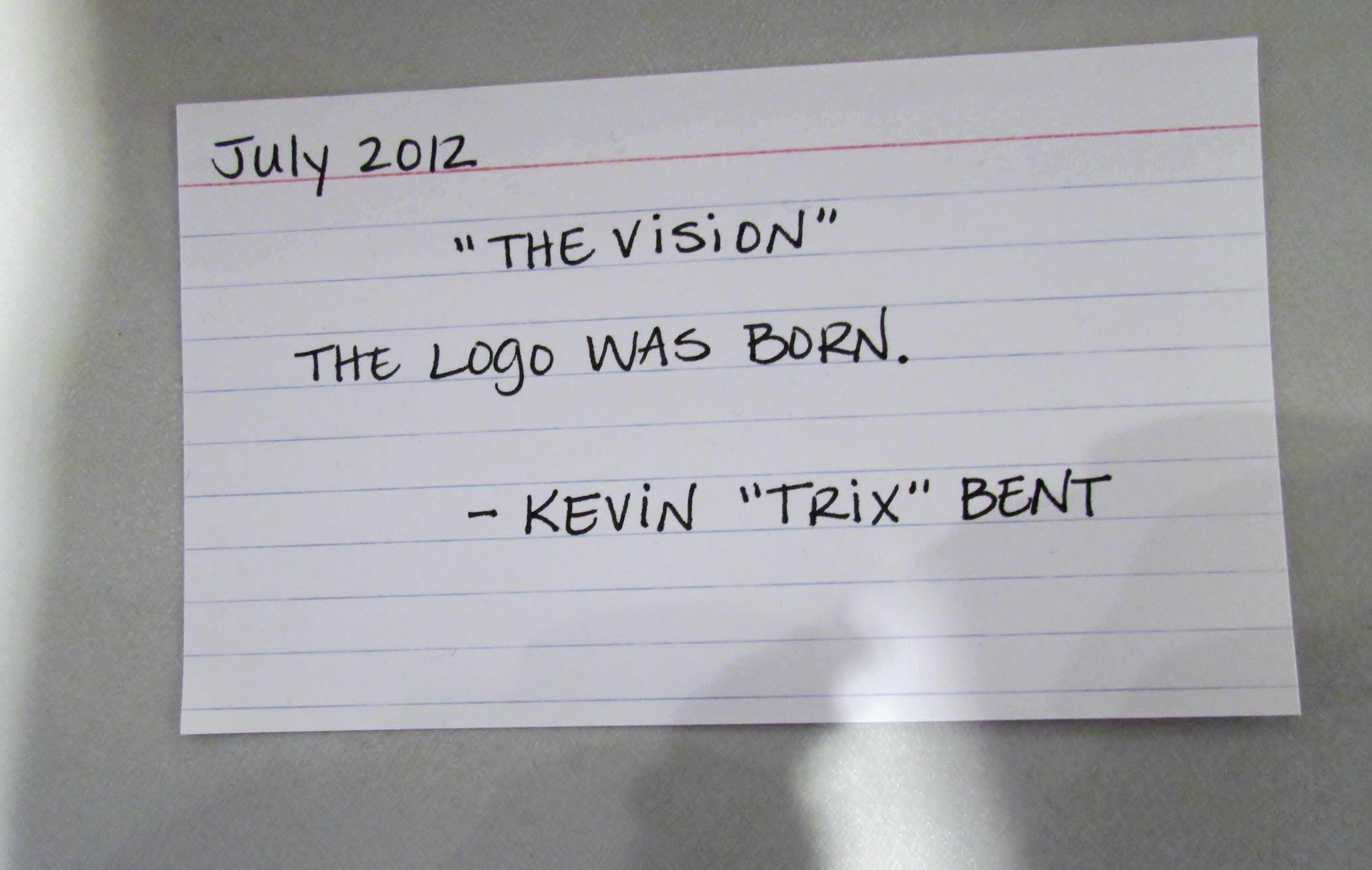"""""""The Vision"""""""