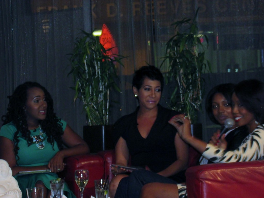 Daniella, Aisha, Helena, and Dr, Maya