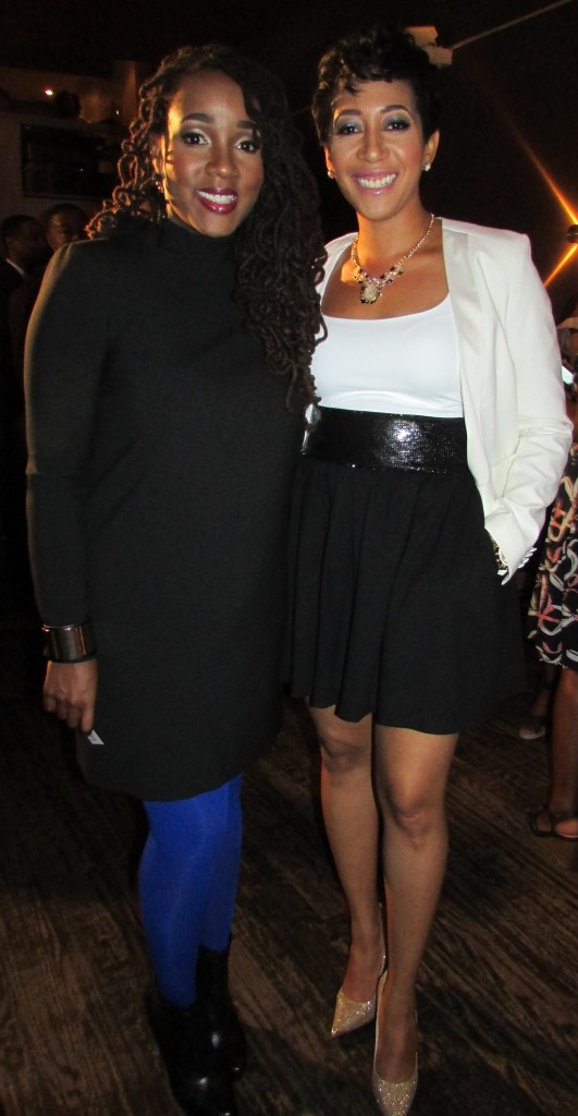 Danielle and Aisha Moodie-Mills of Politini