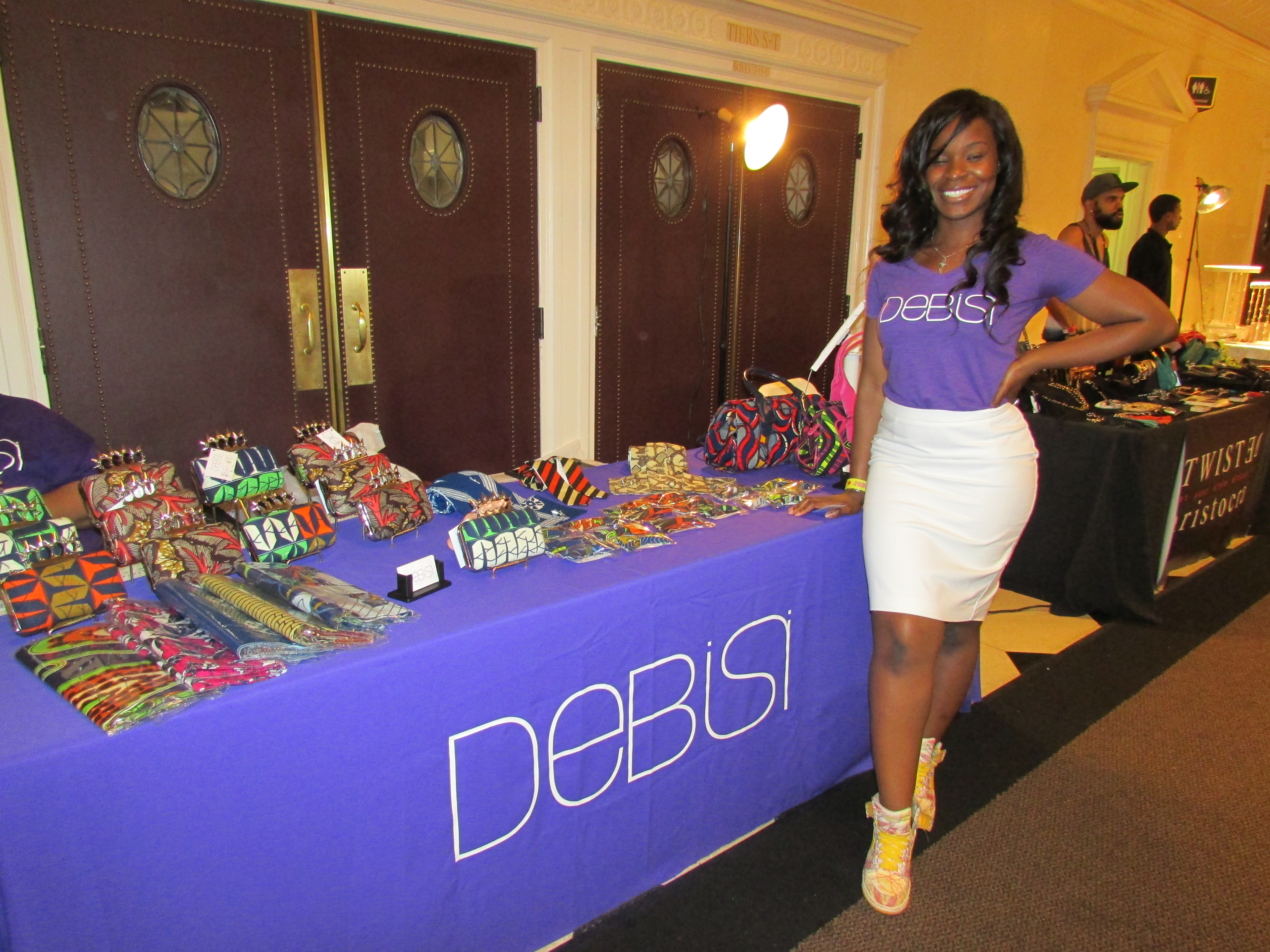 Ms. Debisi. Check her out!