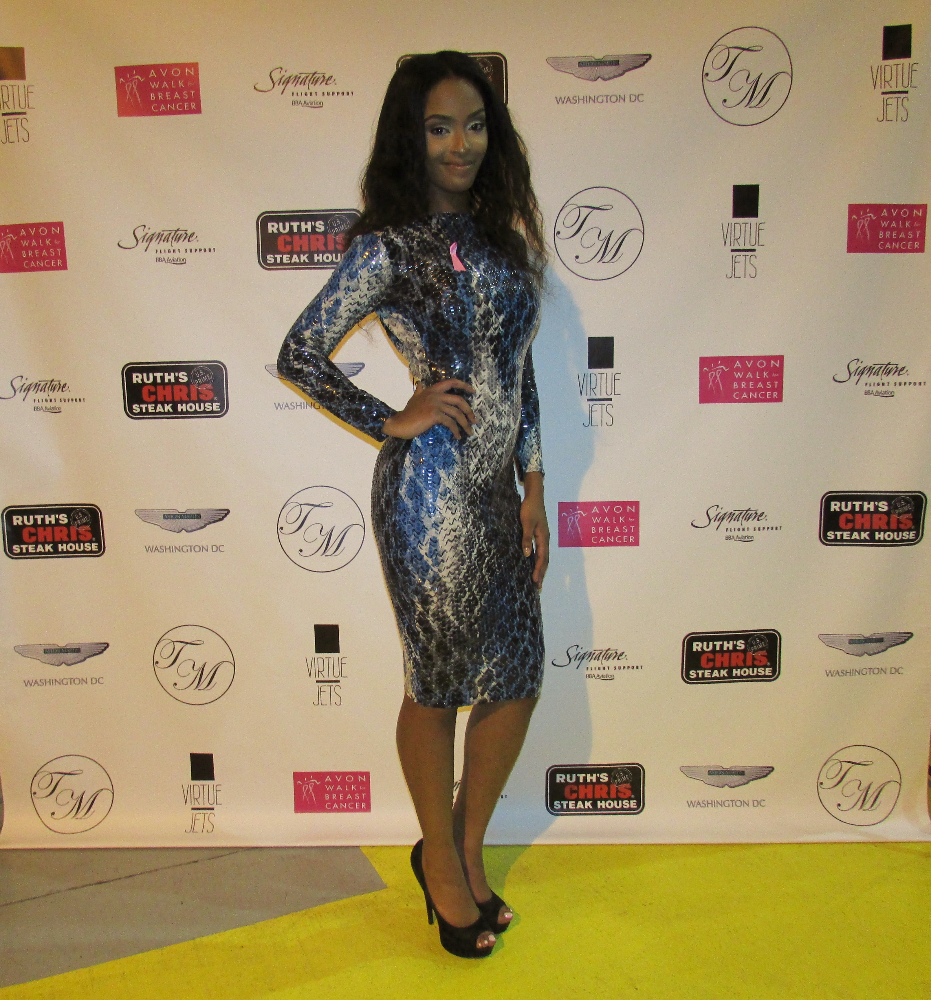 TaLisa Michelle in her own design