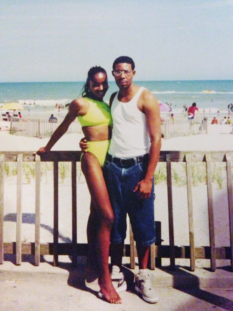 My boo and I at the time, at VA Beach. Who's sick?? Ain't nobody got time for that!
