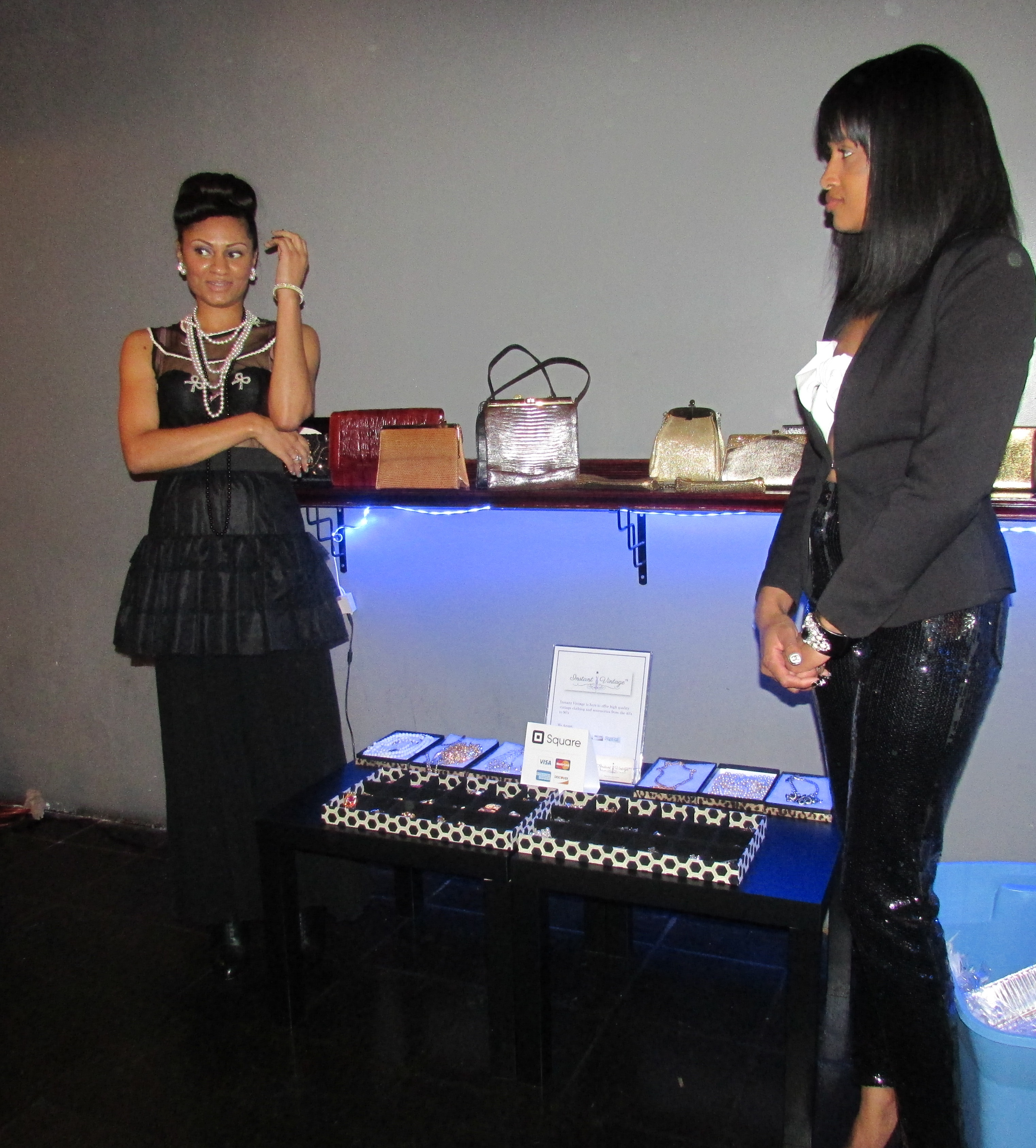 Samantha and Stacie of Instant Vintage 78