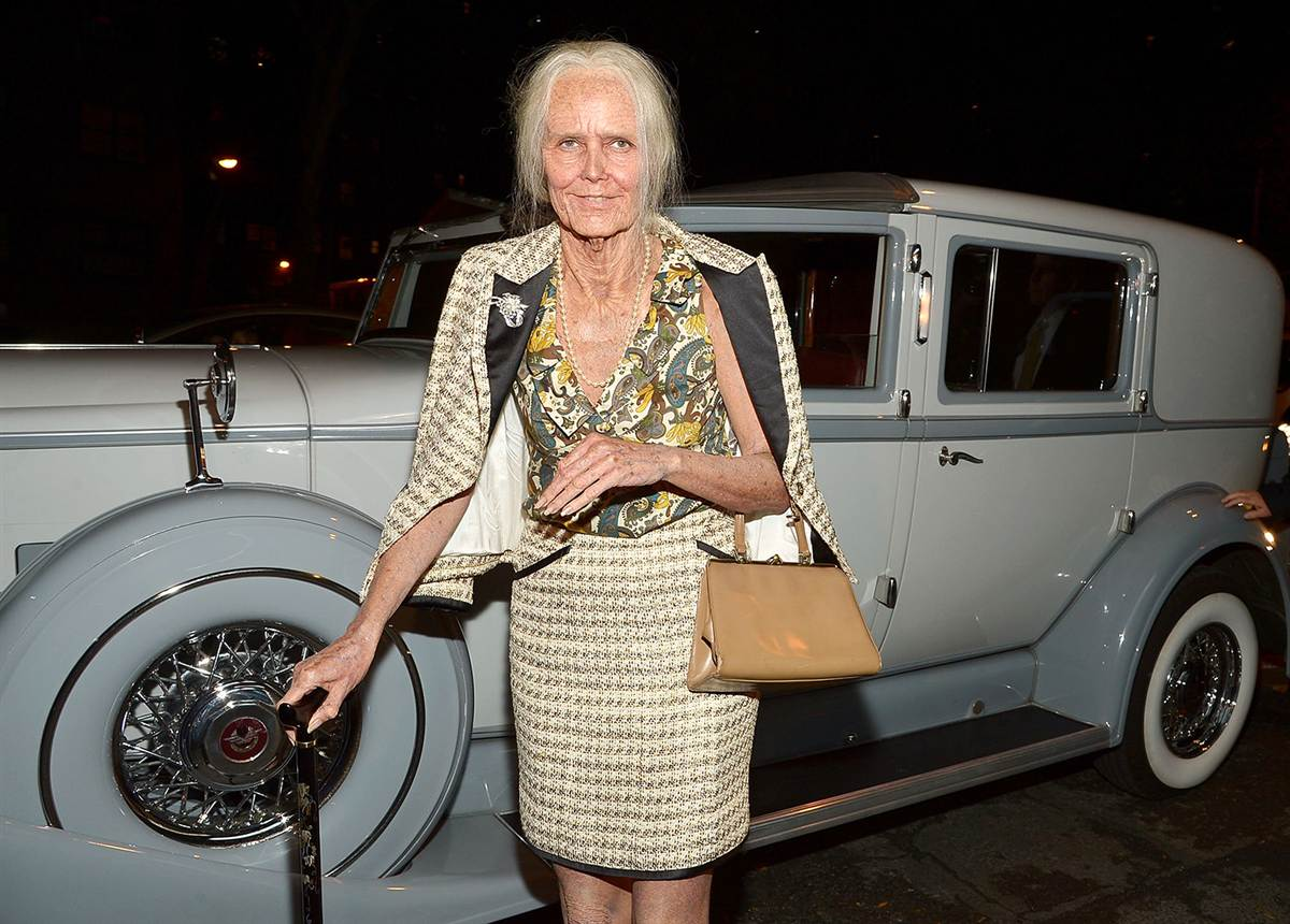 Vintage Heidi doing Halloween 2013! (Mike Coppola / Getty Images)