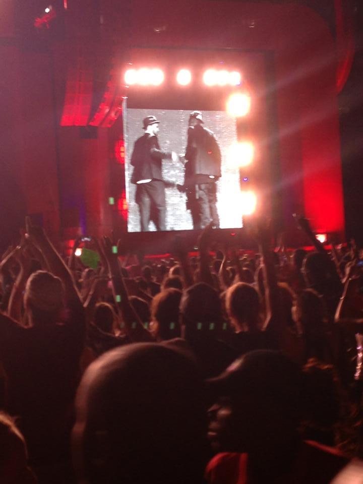 Concert w JT