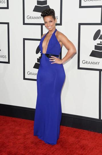 Alicia Keys  in Armani Prive