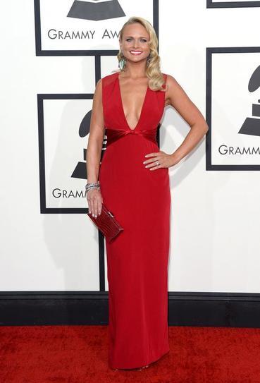 Miranda Lambert in Pamella Roland