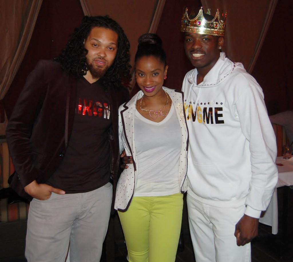 Harley Morgan, Yana B., and King O