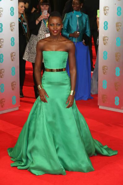 British Academy Film Awards- Lupita in Christian Dior- Photo by Chris Jackson Getty Europe