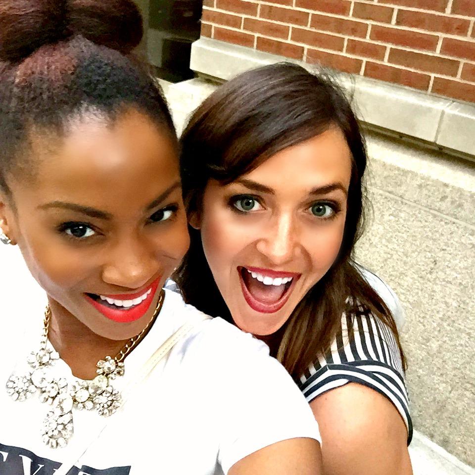 Yana and Lauren