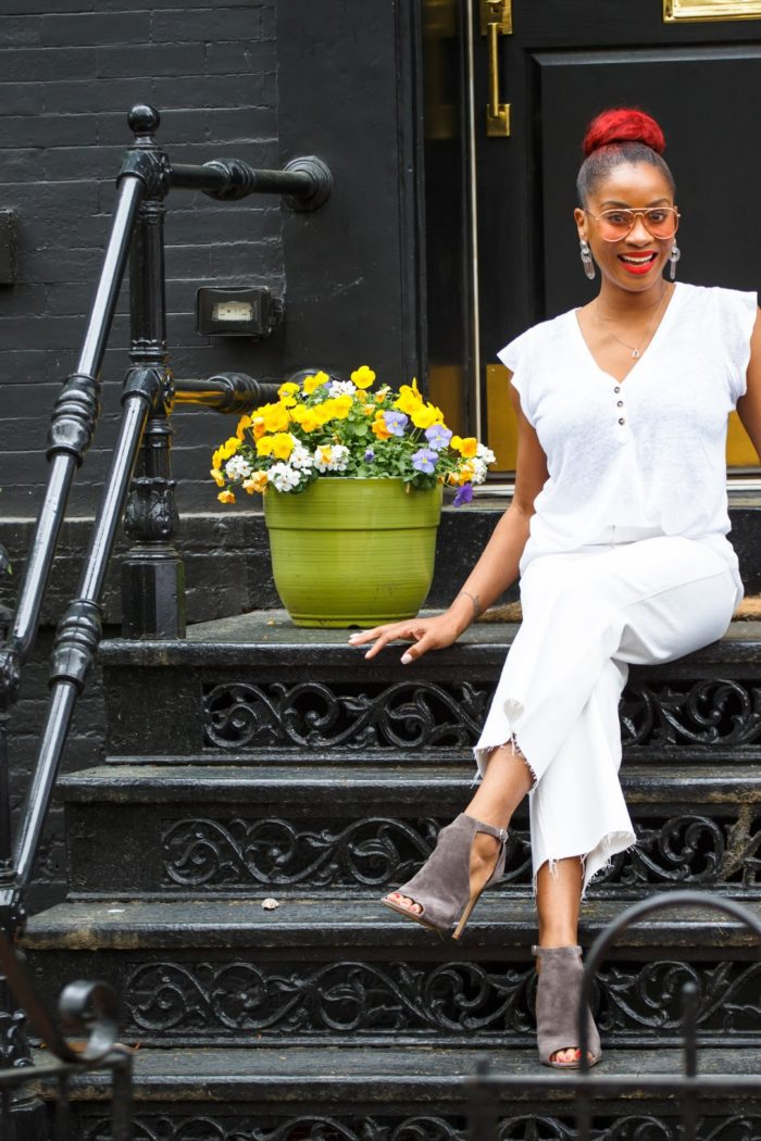 Spring Style: The Denim Culotte