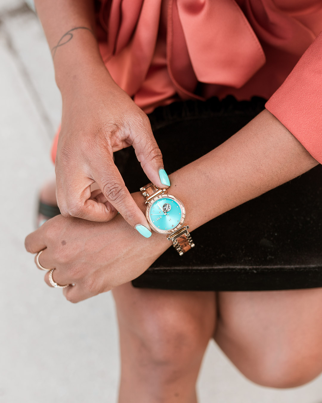 Style Stamped and JORD watch
